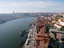 Douro flod i Porto Fotografering för Bildbyråer
