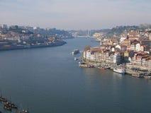 Douro flod i Porto Royaltyfri Bild