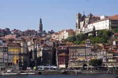 Douro flod Porto Portugal Fotografering för Bildbyråer