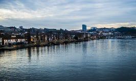Douro Fluss in Porto, Portugal lizenzfreie stockfotografie