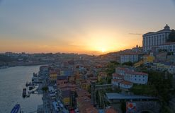 Douro river and Porto Royalty Free Stock Photography
