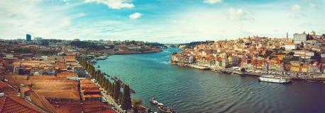 Douro Panoramic Royalty Free Stock Photos
