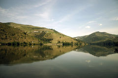 The Douro - Portugal. View of The Douro in Portugal Stock Photo