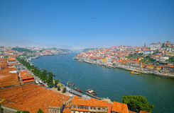 Porto with Douro river Stock Photography