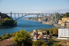 Douro River, Arrabida Bridge royalty free stock photography