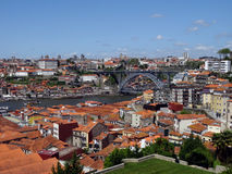 Douro river and Bridge Stock Photography