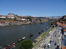 Douro river and Bridge Royalty Free Stock Image