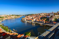 Douro river. In the city of porto Royalty Free Stock Image