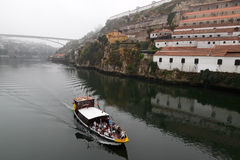 Douro river cruise Royalty Free Stock Images