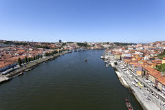 Douro River Downstream Royalty Free Stock Images