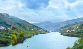 Douro river landscape,  Portugal Stock Photos