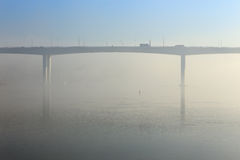 Douro river in the morning mist Royalty Free Stock Photo
