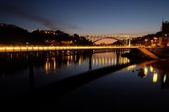 Douro River by night Stock Photo