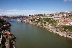 Douro River in Porto Stock Images