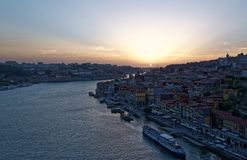 Douro river and Porto Stock Images