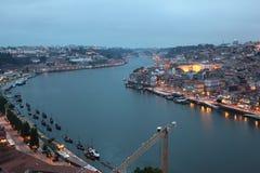 Douro river in Porto, Portugal Royalty Free Stock Photo