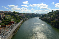 Douro River at Porto, Portugal Stock Photo