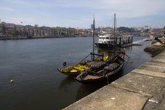 Douro river Porto Portugal Royalty Free Stock Photo