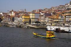 Douro river Porto Portugal Stock Image