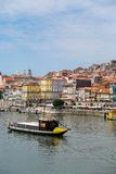 Douro river in Porto, Portugal Stock Image