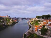 Douro River in Porto Stock Photo