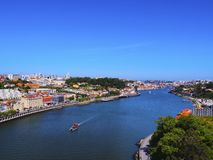 Douro River in Porto Stock Photos