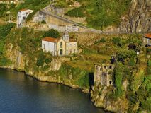 Douro River in Porto Royalty Free Stock Images