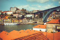 Douro River and Porto Royalty Free Stock Image