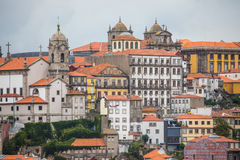 Porto, Portugal - July 2017. The Douro River and the Ribeira District which is the most famous part of Porto Royalty Free Stock Image