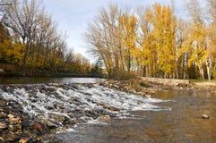 Douro river at Soria (Spain) Royalty Free Stock Photo
