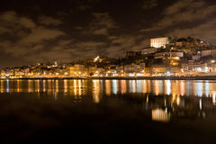 Douro Riverbank at Oporto, Portugal Royalty Free Stock Photos