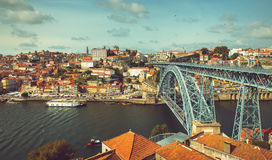 Douro Riverbank Royalty Free Stock Images