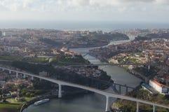 Douro rzeka w Porto zdjęcie royalty free