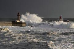 Douro Stürme lizenzfreies stockbild