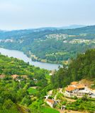 Douro valley overview, Portugal Royalty Free Stock Images