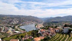 Douro vingårdar Arkivfoton