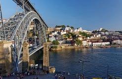 Dourorivier en Porto royalty-vrije stock foto's