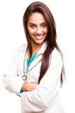 Doutor étnico bonito fotos de stock royalty free