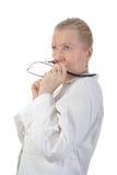 Doutor adulto engraçado Imagens de Stock Royalty Free
