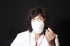 Doutor assustador Foto de Stock