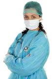 Doutor atrativo da senhora Imagens de Stock Royalty Free