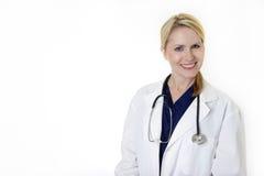 Doutor atrativo da senhora Imagem de Stock