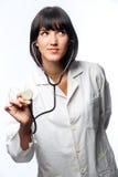 Doutor caucasiano imagem de stock royalty free