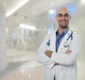 Doutor com confiança Fotos de Stock