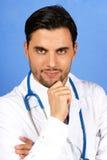 Doutor com estetoscópio Foto de Stock