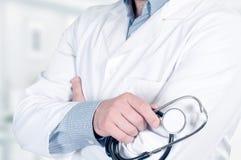 Doutor com estetoscópio Imagem de Stock Royalty Free