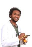 Doutor com medicina Fotografia de Stock Royalty Free