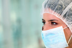 Doutor com uma máscara Imagem de Stock