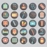 Doutor da medicina e estetoscópio, conexão de rede médica do ícone com a relação moderna da tela virtual, rede médica da tecnolog ilustração do vetor