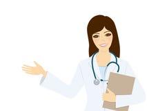 Doutor da mulher Imagem de Stock